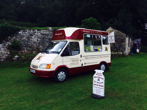 Traditional Ice Cream Van
